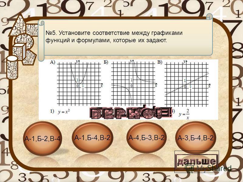 Текст вопроса 4. Найдите корни уравнения:
