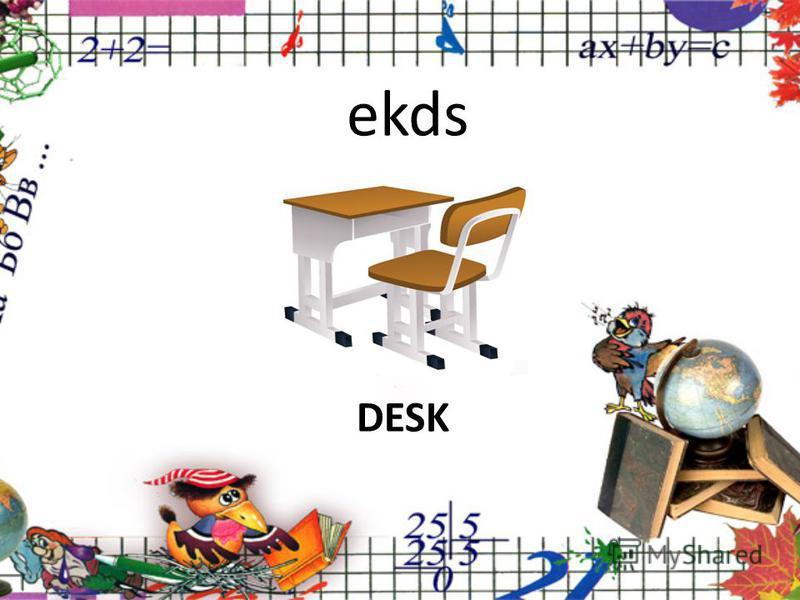ekds DESK