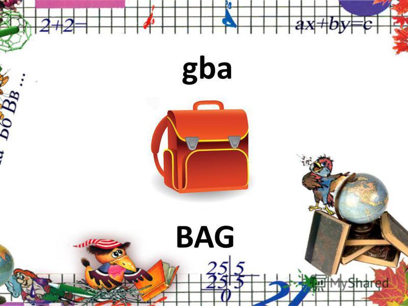 gba BAG