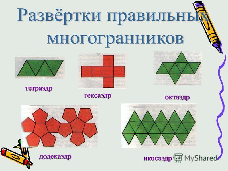 Теорема 1 : Сумма плоских углов многогранного угла меньше 360 0. 60 0 90 0 108 0 120 0 Теорема 2: Не существует правильного многогранника, гранями которого являются правильные п-угольники при п>5.