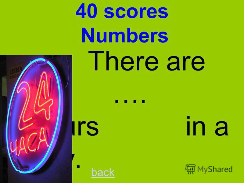 30 scores Numbers A trio has …. musicians. back three
