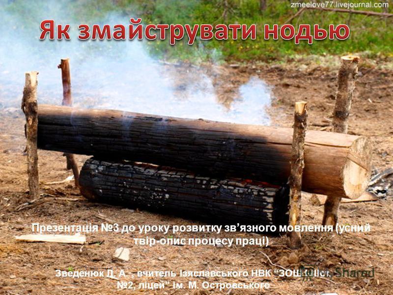Зведенюк Людмила Анатоліївна, вчитель Ізяславського НВК