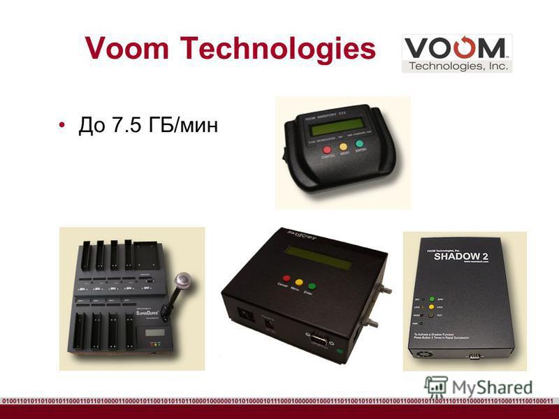 Voom Technologies До 7.5 ГБ/мин