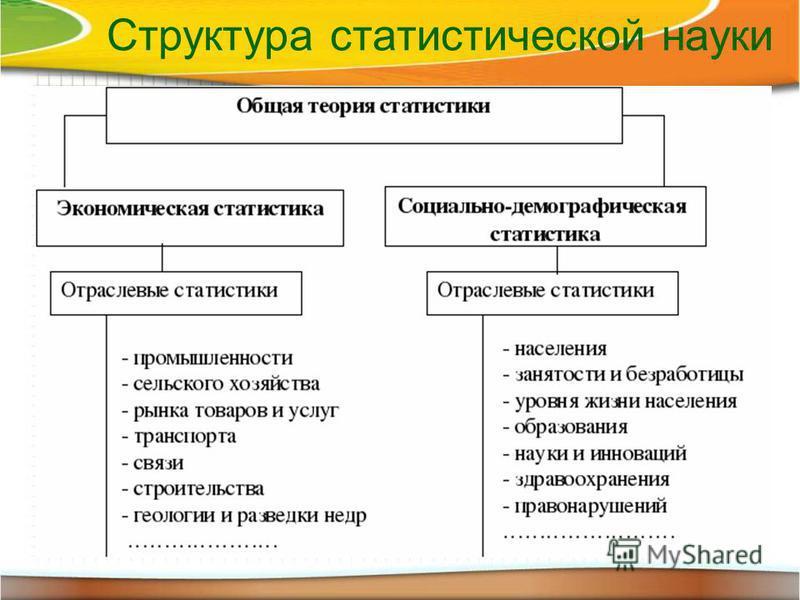 Структура статистической науки