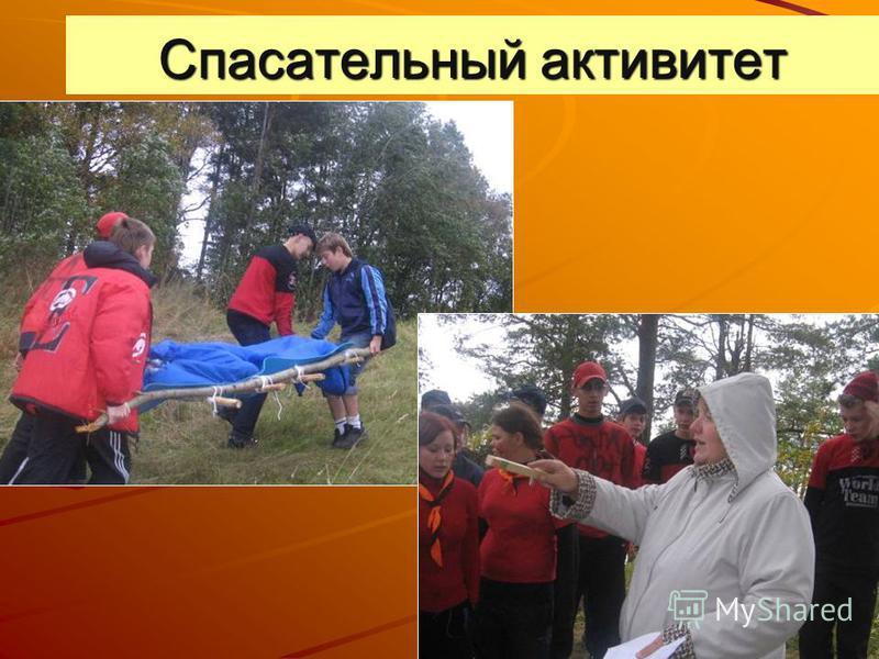Спасательный активитет
