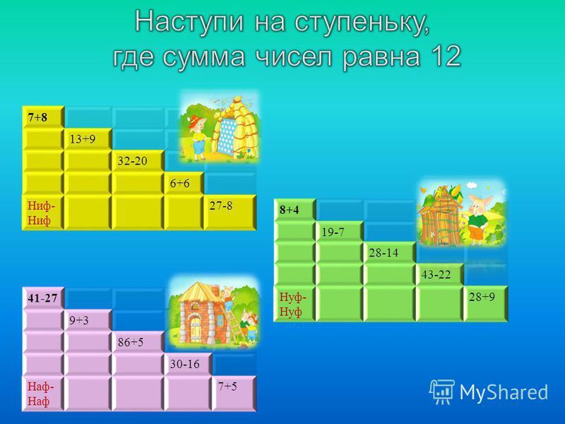7+8 13+9 32-20 6+6 Ниф - Ниф 27-8 8+4 19-7 28-14 43-22 Нуф - Нуф 28+9 41-27 9+3 86+5 30-16 Наф - Наф 7+5