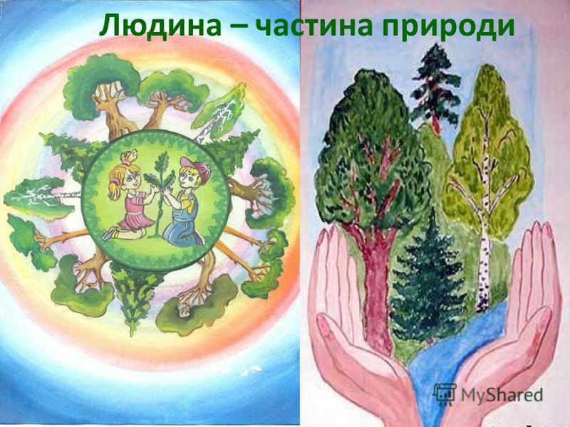 Людина – частина природи