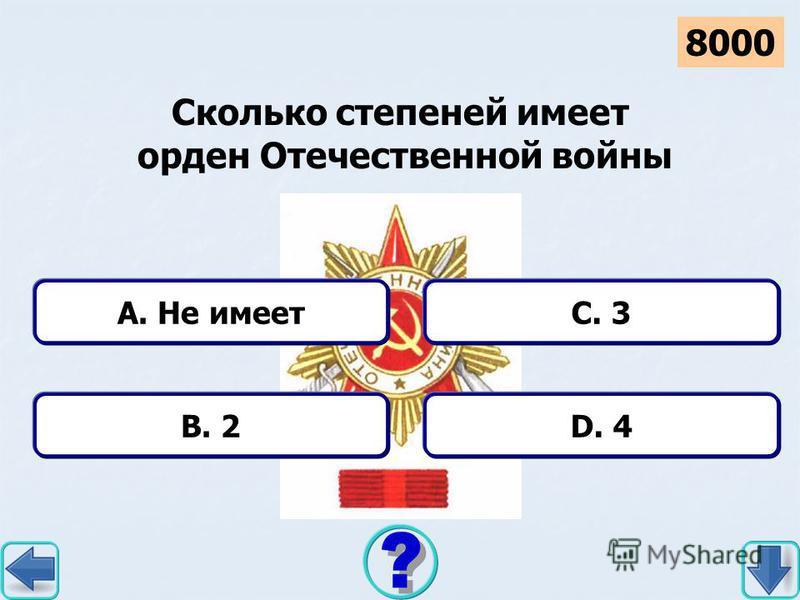 D. Сталин дал приказ A. Верный дан приказ B. Точный дан приказ C. Дали нам приказ В песне «Марш артиллеристов» Т. Хренникова припев начинался со слов «Артиллеристы… 2000