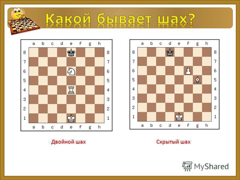 Двойной шах Скрытый шах