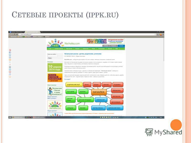 С ЕТЕВЫЕ ПРОЕКТЫ ( IPPK. RU )