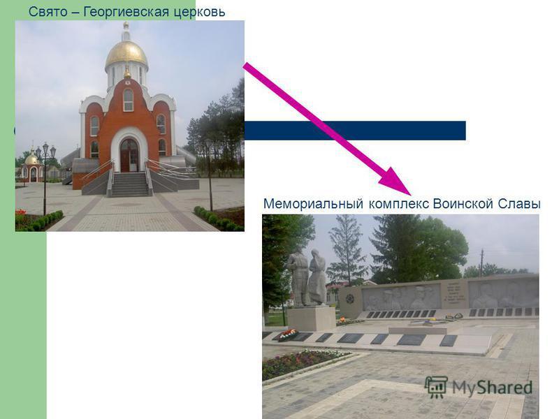 Свято – Георгиевская церковь Мемориальный комплекс Воинской Славы