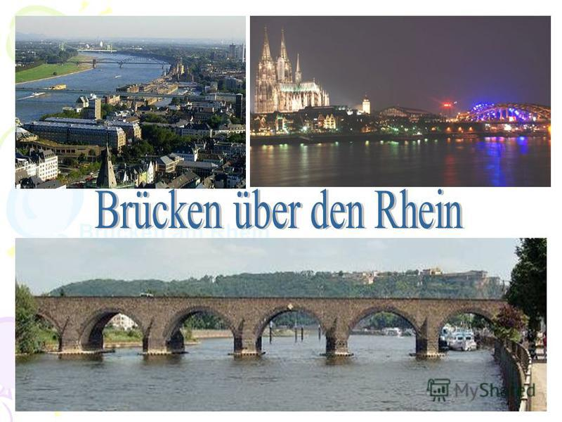 Köln Brücken am Rhein