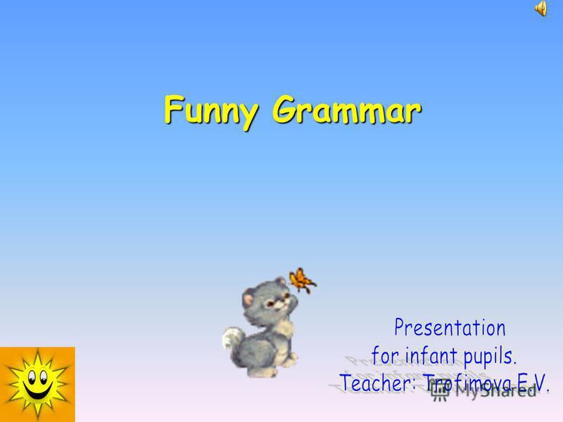 Funny Grammar