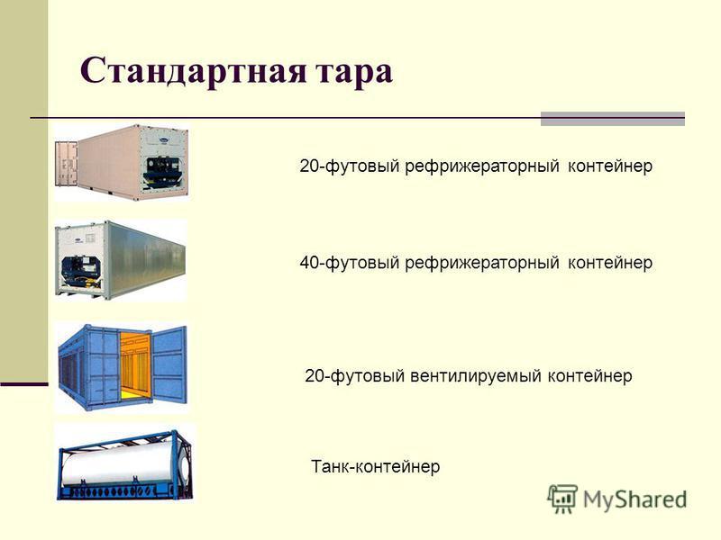 Стандартная тара 20-футовый рефрижераторный контейнер 40-футовый рефрижераторный контейнер 20-футовый вентилируемый контейнер Танк-контейнер