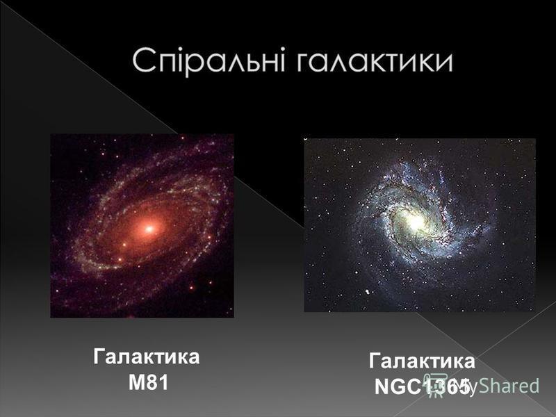 Галактика М81 Галактика NGC1365