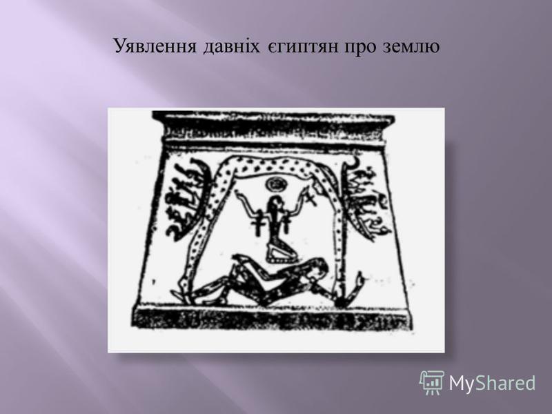 Уявлення давніх єгиптян про землю