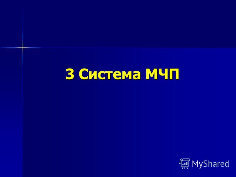 3 Система МЧП