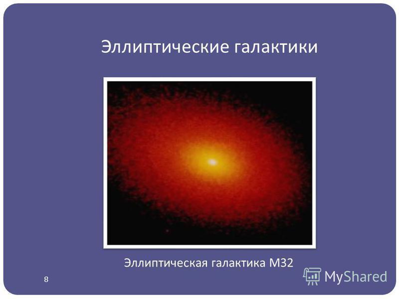 Эллиптические галактики Эллиптическая галактика М32 8