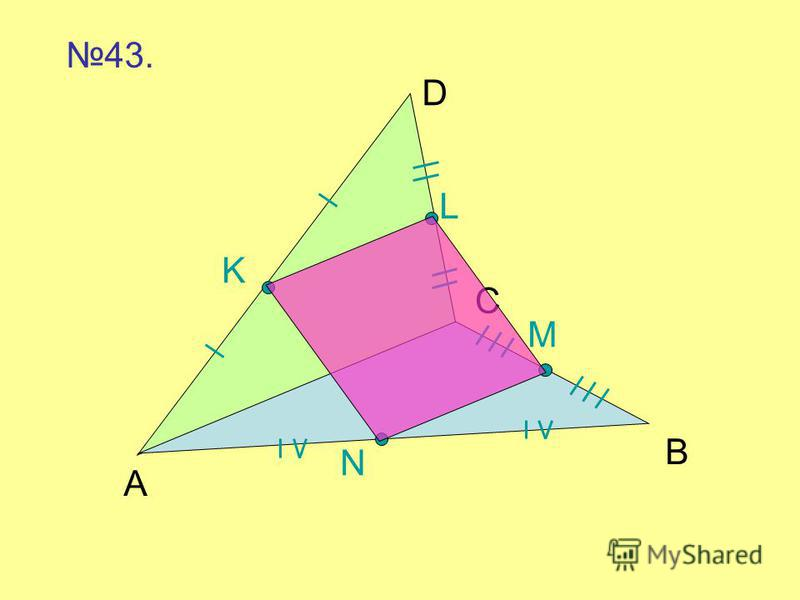 L K M N A C B D 43.