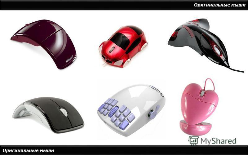 Оригинальные мыши