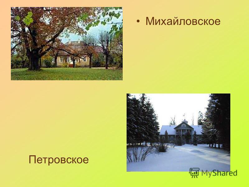 Михайловское Петровское