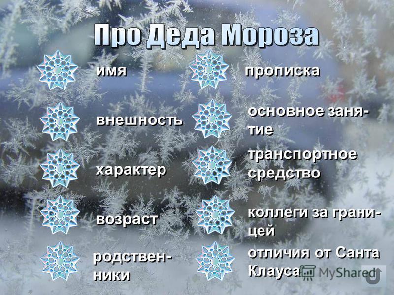 Про Деда Мороза Про Деда Мороза Про Новый год Про Новый год