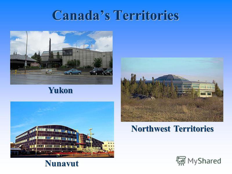 Nunavut Canadas Territories Yukon Northwest Territories