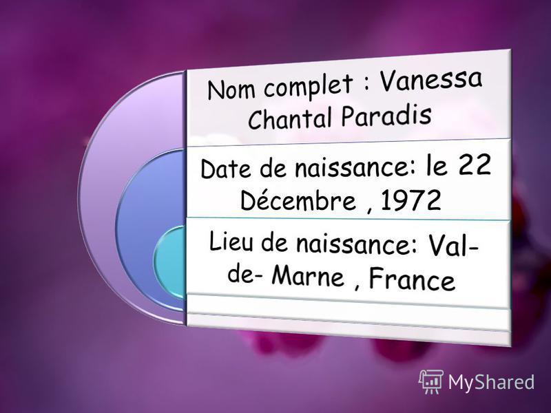 Vanessa Chantal Paradis - actrice française, chanteuse et mannequin.