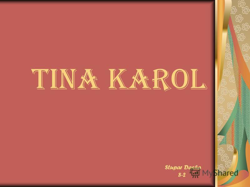 Tina Karol Stupar Dasha 8-2