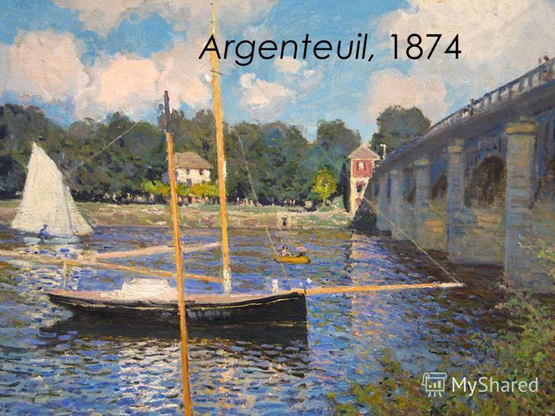 Argenteuil, 1874