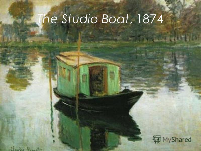 The Studio Boat, 1874