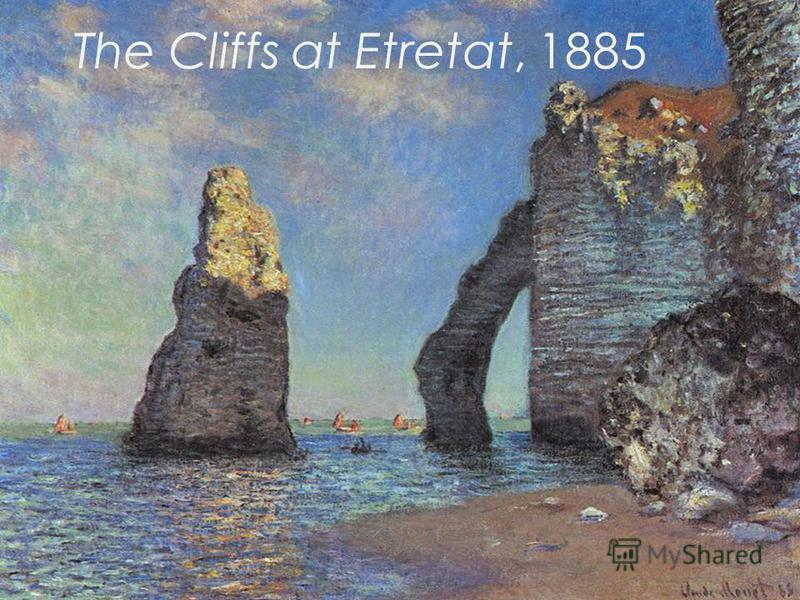 The Cliffs at Etretat, 1885