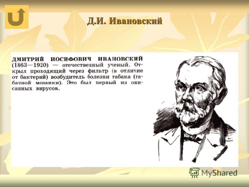 Д.И. Ивановский