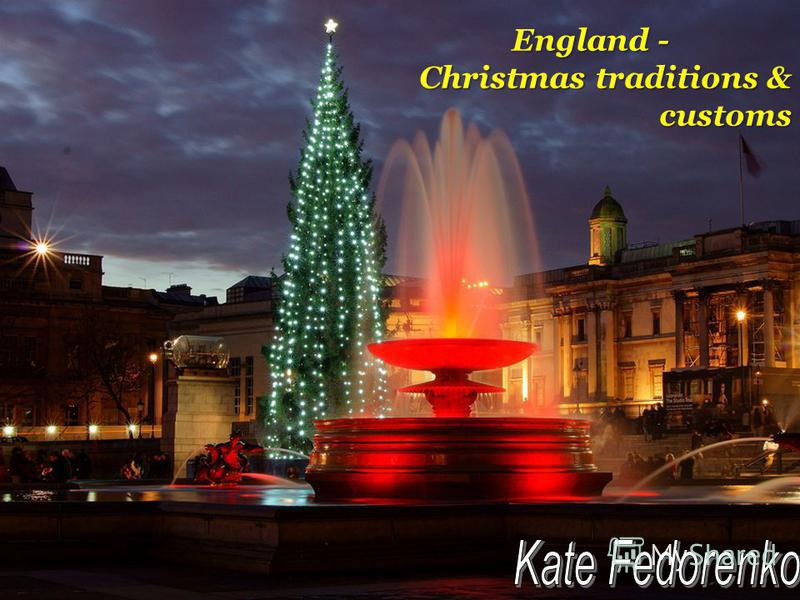 England - Christmas traditions & customs