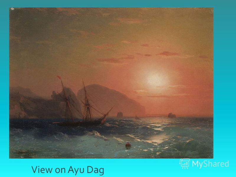 View on Ayu Dag