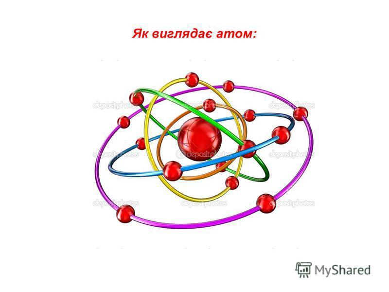 ЯК ВИГЛЯДАЄ АТОМ: Як виглядає атом: