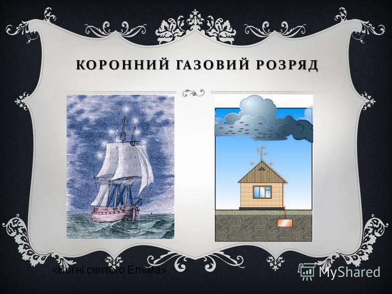 КОРОННИЙ ГАЗОВИЙ РОЗРЯД «Вогні святого Ельма»