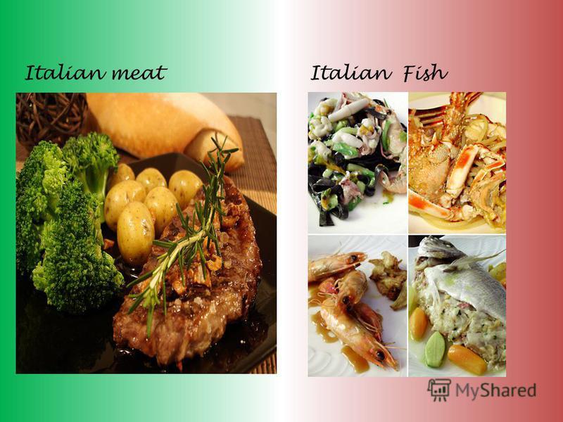 Italian meatItalian Fish