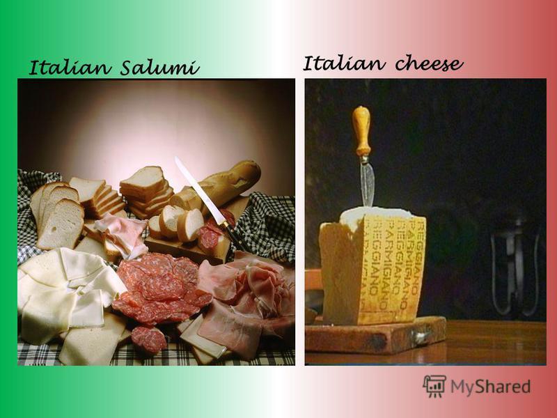 Italian Salumi Italian cheese
