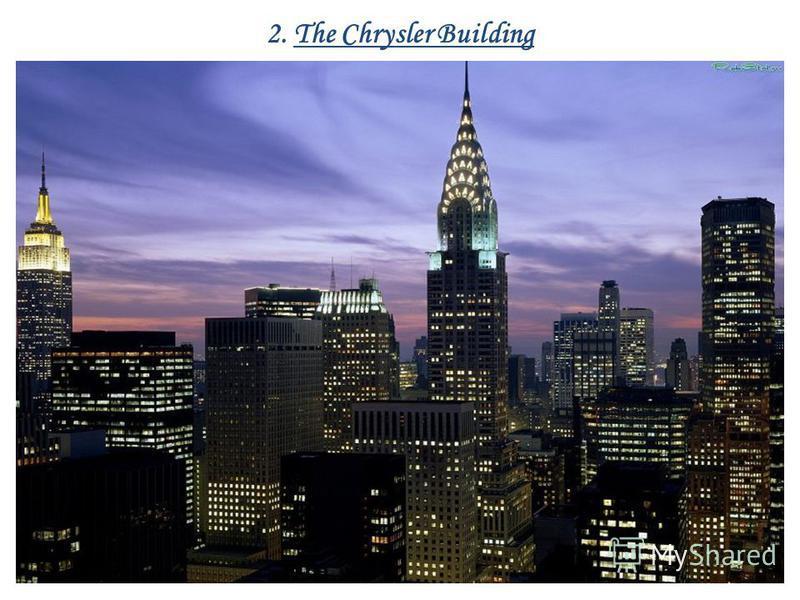 2. The Chrysler Building