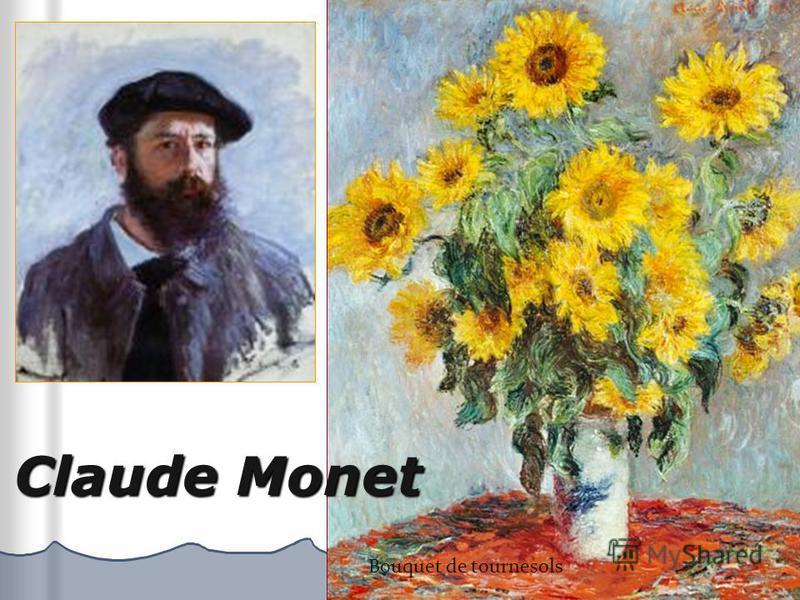 Claude Monet Bouquet de tournesols