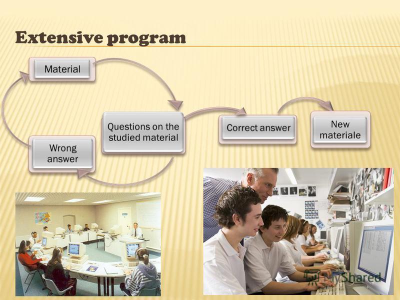 Extensive program