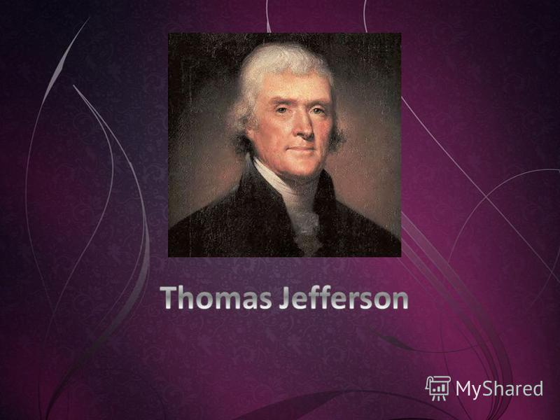 Thomas Jefferson: First Inaugural Address