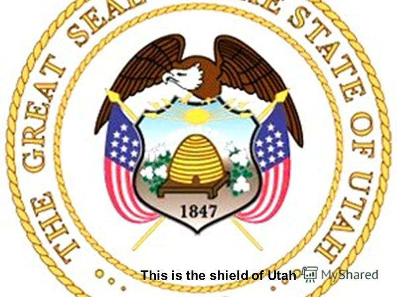 This is the shield of Utah