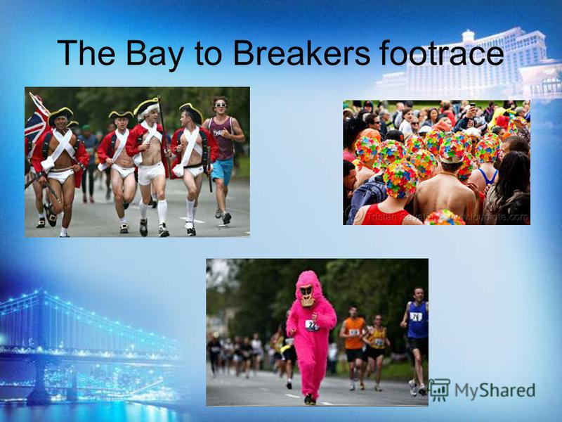 The Bay to Breakers footrace