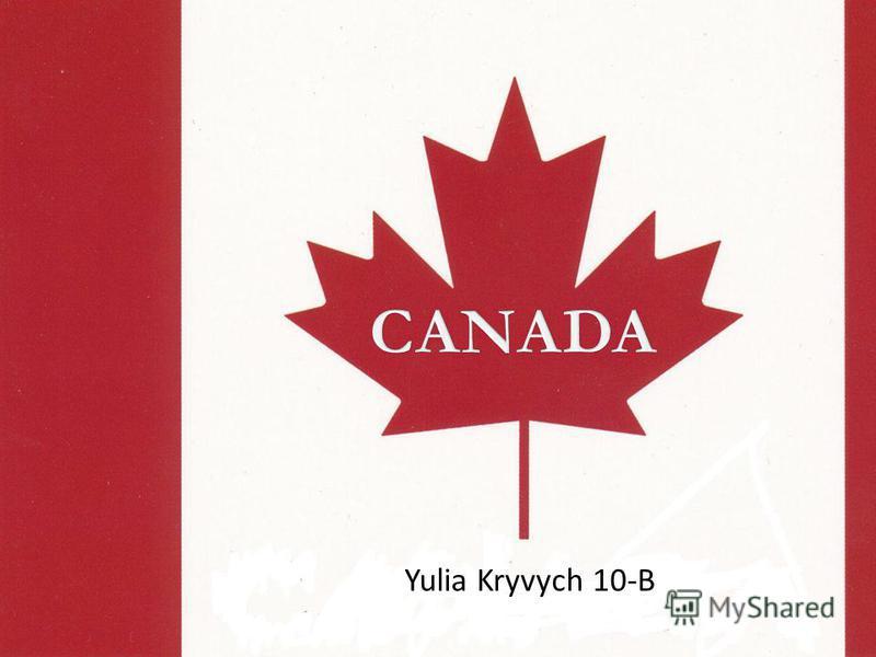 Yulia Kryvych 10-B