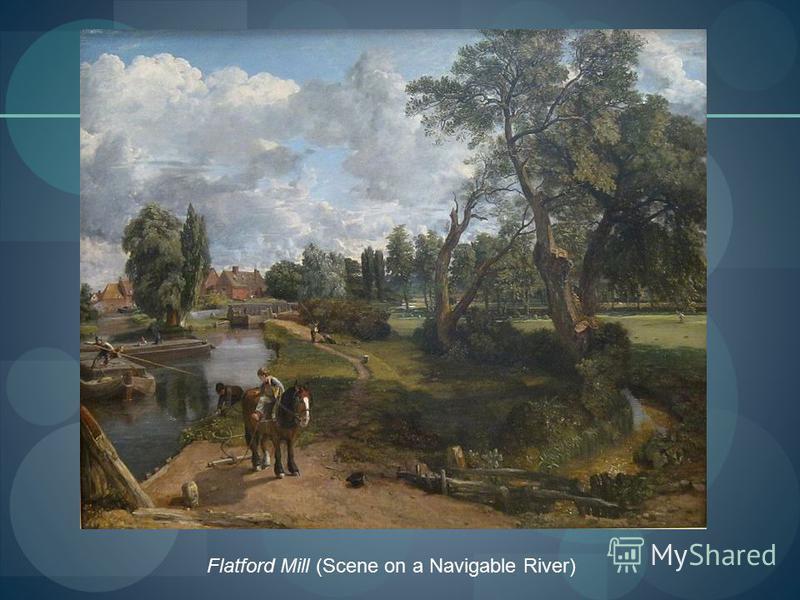 Flatford Mill (Scene on a Navigable River)