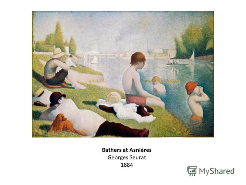 Bathers at Asnières Georges Seurat 1884