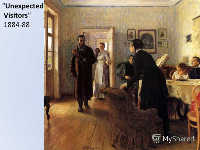 Unexpected Visitors 1884-88