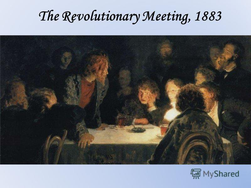 The Revolutionary Meeting, 1883